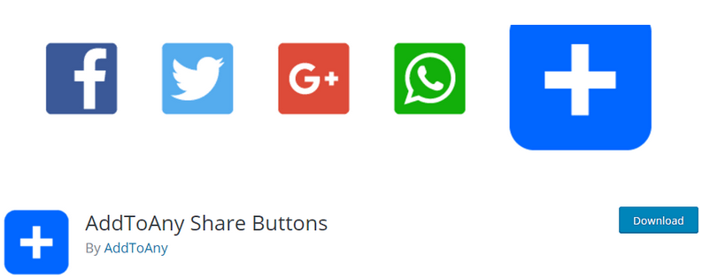 AddToAny Sharing Buttons