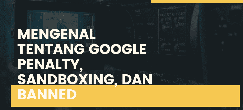 google penalty sandboxing banned